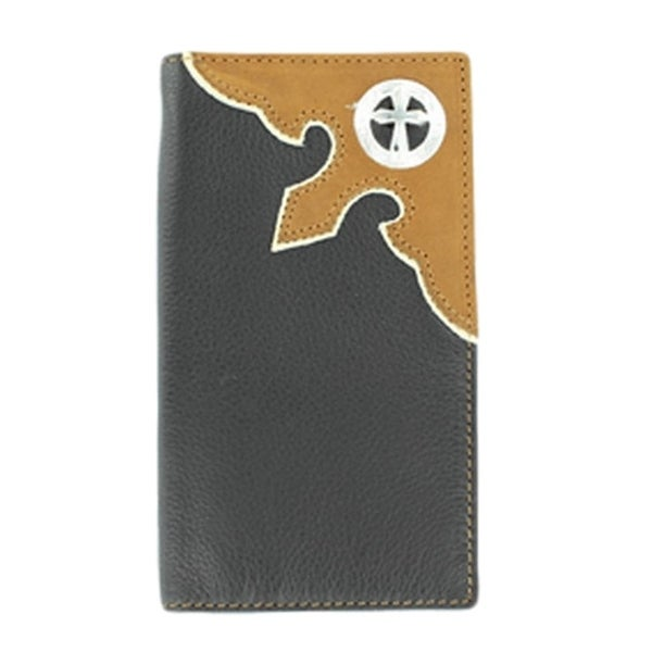 Nocona Western Wallet Classic Mens Rodeo Cross Concho - One size