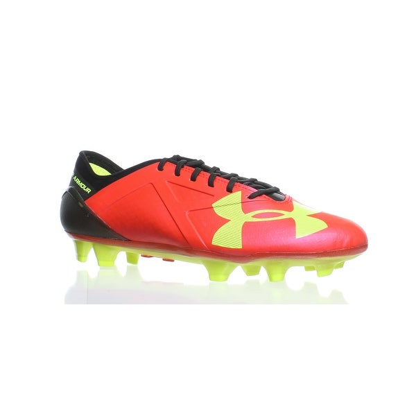 bf2e0ab3933 Shop Under Armour Mens Spotlight Red Soccer Cleats Size 7 - Free ...