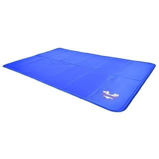"ArfPets Self Cooling Mat Pad for Kennels, Crates and Beds - 27"" x 43"""