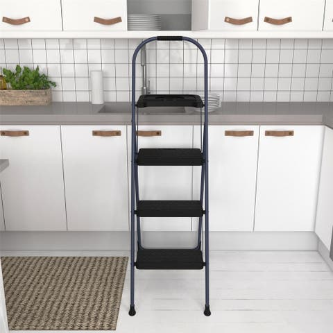COSCO 3-Step BIG step Step Stool with Tray