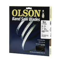 "Olson Saw 19293 Hard Edge Flex Back Band Saw Blade, 4 TPI, 93.5"""