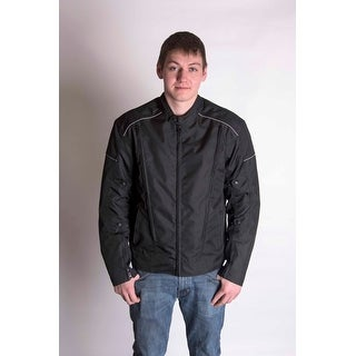 RoadDog FASTTrack Riding Jacket Water Resistant Adjustable Sleeves Air Vents