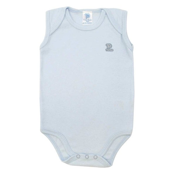 Baby Bodysuit Infant Unisex Sleeveless Pulla Bulla Sizes 0-18 Months