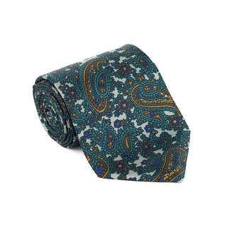 Tom Ford Luxurious Green Leaf Floral Paisley Tie - no size