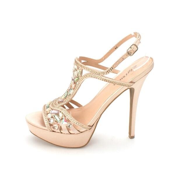ZIGI SOHO Womens Sunelle Fabric Open Toe Formal Slingback Sandals - 8.5