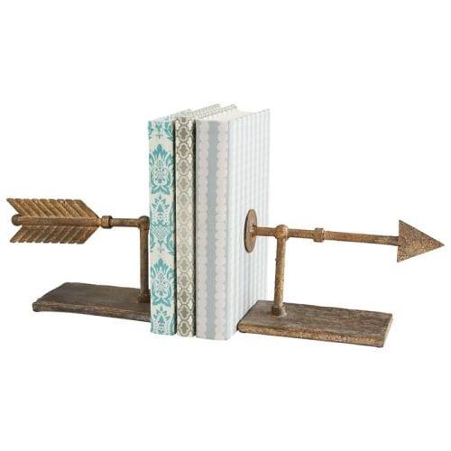 Cyan Design Archer Bookends 5.25 Inch Tall Archer Bookends