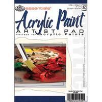 "17 Sheets - Essentials Acrylic Artist Paper Pad 5""X7"""