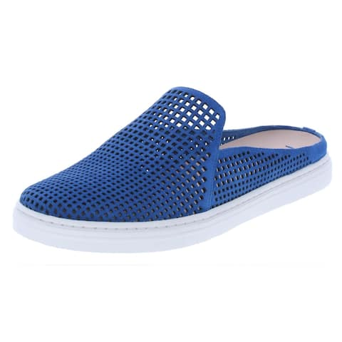 Via Spiga Women's Rina 2 Leather Perforated Slip On Casual Sneaker Shoes