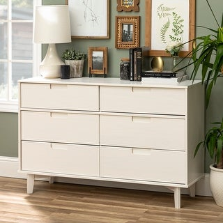Link to Carson Carrington Gammelstaden Mid-century 6-drawer Dresser Similar Items in Dressers & Chests