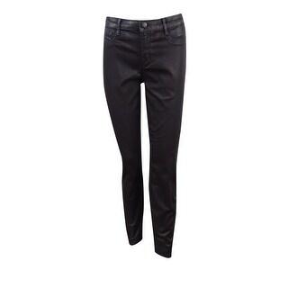 Maison Jules Women's Everyday Skinny Sateen Jeans