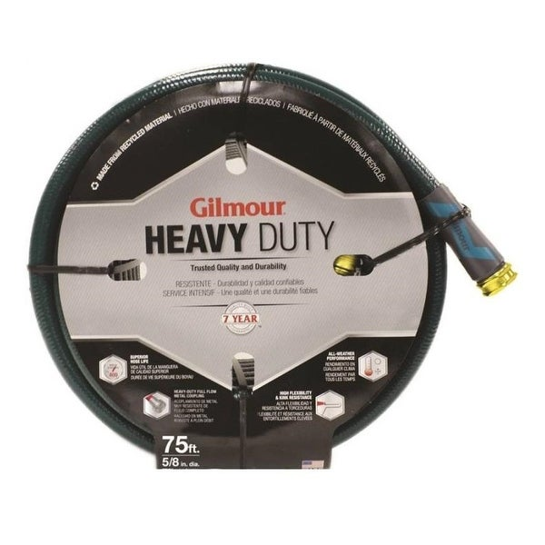 "Gilmour 894501-1001 Heavy-Duty Garden Hoses, Vinyl, 5/8"" x 50'"