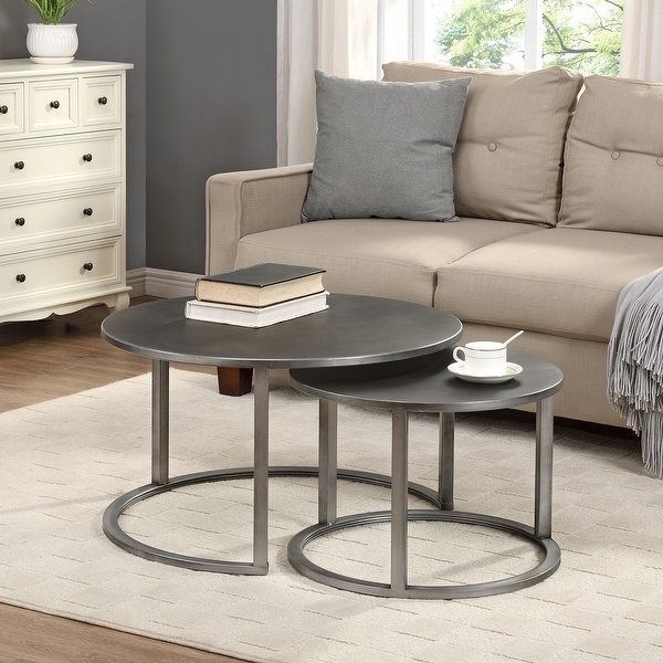 FirsTime & Co. Hayes Nesting 2-piece Coffee Table Set. Opens flyout.