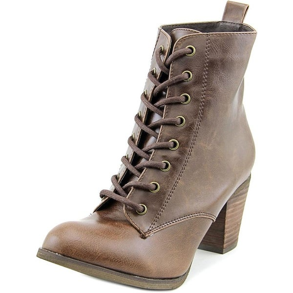 499ff16a8f2 Shop Chelsea Crew Detour Women Round Toe Synthetic Brown Ankle Boot ...