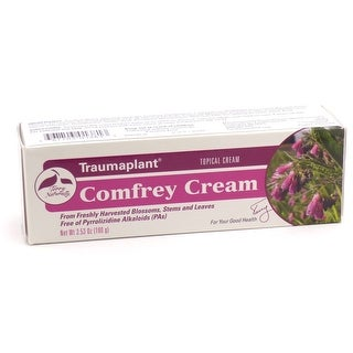Terry Naturally Traumaplant Comfrey Cream - 3.53 oz Topical Cream - From Freshly Harvested Blossoms, Stems and Leaves