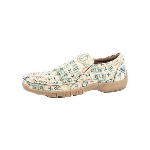 Roper Casual Shoes Women Johnnie Driving Moc Beige
