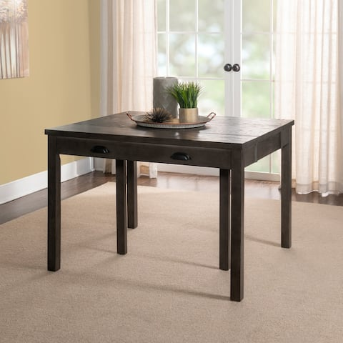 Nevin Expandable Grey Console Dining Table