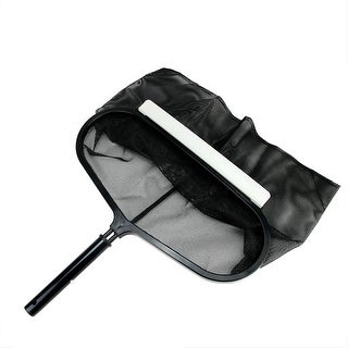 "Deep Bag Swimming Pool Leaf Rake Head 20"" - gray"