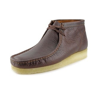 Clarks Originals Wallabee Boot Round Toe Leather Chukka Boot