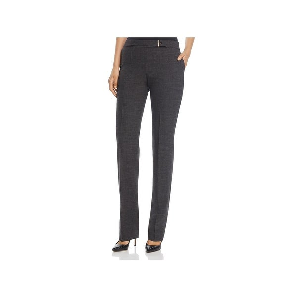 BOSS Hugo Boss Womens Tafena Dress Pants Plaid Professional