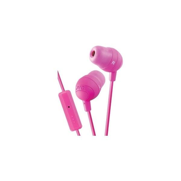 jvc TB6618P JVC HAF160P Gumy Ear Bud Headphone