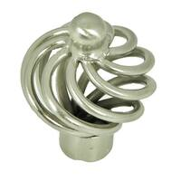 Stone Mill Hardware - Satin Nickel Coventry Cabinet Knobs (Pack of 10)