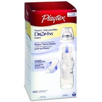 Playtex Drop-Ins Disposable Liners 8-10-Ounce 100 ea