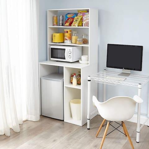 Yak About It - Mini Fridge Dorm Station with Top Shelf