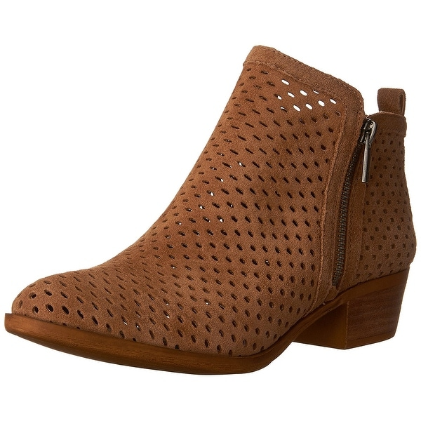 Lucky Brand Womens Basel3 Leather Closed Toe Ankle Fashion Boots