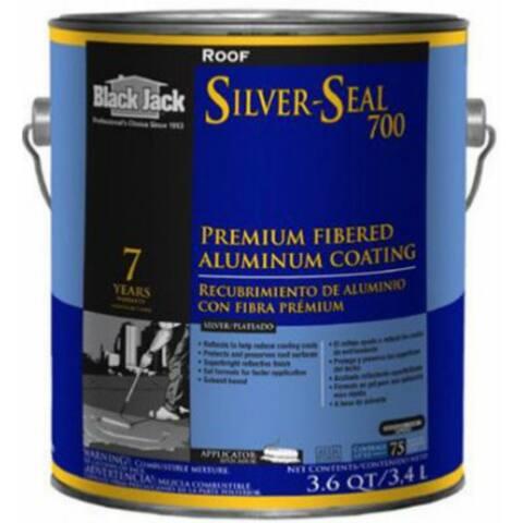 Black Jack 5177-A-34 Silver Seal 700 Premium Fibered Aluminum Coating, 3.6 Qt