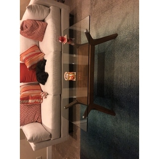 Carson Carrington Kristiansand Walnut Finished Coffee Table