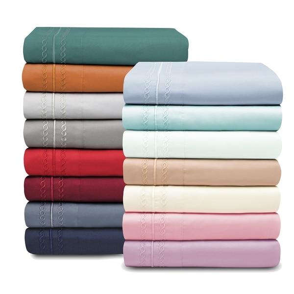 Superior Infinity Wrinkle Resistant Brushed Microfiber Bed Sheet Set. Opens flyout.
