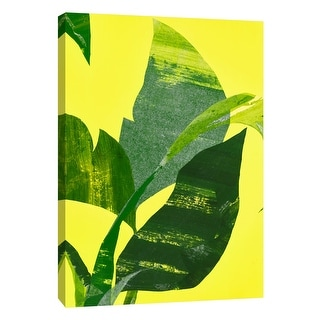 """PTM Images 9-108602  PTM Canvas Collection 10"""" x 8"""" - """"Heat Wave 2"""" Giclee Leaves Art Print on Canvas"""