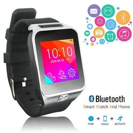Indigi® NEW Factory Unlocked SWAP2 (SmartWatch and Phone) Universal Bluetooth Sync + Built-In Camera + MP3 + FM Radio