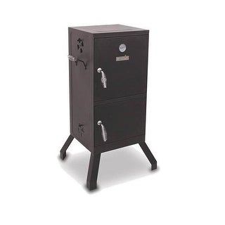 Char-Broil 14201876 Cb 365-Sq In Adjustable Vertical Charcoal Smoker, Black