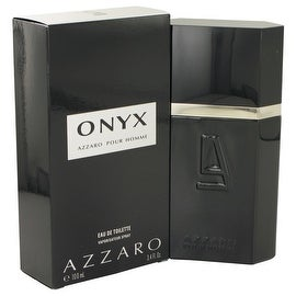 Onyx by Azzaro Eau De Toilette Spray 3.4 oz - Men