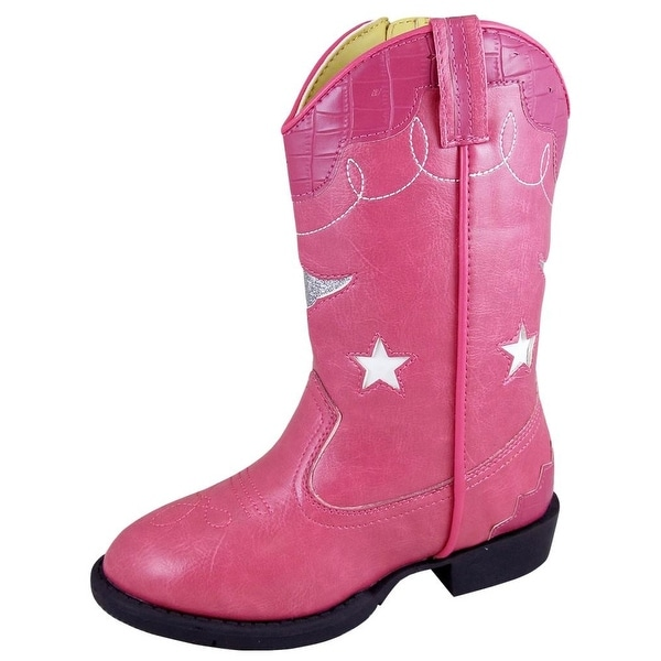 Shop Smoky Mountain Western Boots Girls Zipper Austin Lights Pink - Free  Shipping Today - Overstock.com - 20566607 b5d9f245e28f