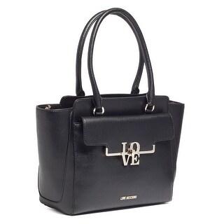 Moschino JC4017 0000 Black Satchel/Shoulder Bag