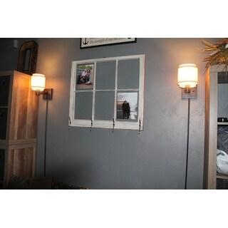 shop aztec lighting transitional 1 light oil rubbed bronze steel