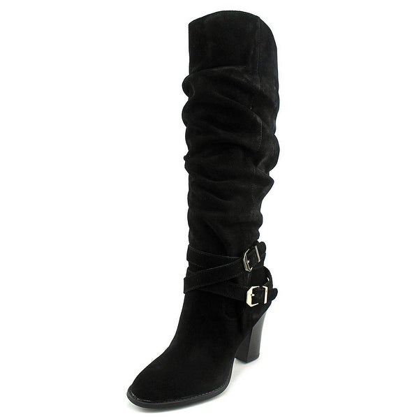 INC International Concepts Jordana Women Black Boots