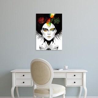 Easy Art Prints Minjae Lee's 'Odd Eye' Premium Canvas Art