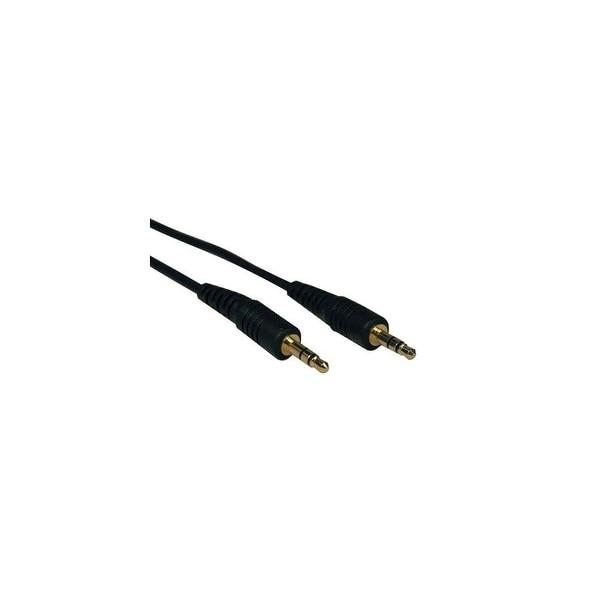 Tripp Lite 3.5mm Mini Stereo Audio Cable f/ Microphones, Speakers & Headphones- N68869B
