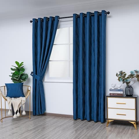 Gouchee Home Surf Indoor Panel Curtains 54 x 96 - N/A