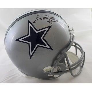Deion Sanders Autographed Dallas Cowboys Full Size Replica Helmet JSA