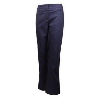 Charter Club Women's Classic Straight Stretch Trousers