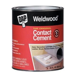 Dap 00272 Weldwood The Original Contact Cement, 1-Quart