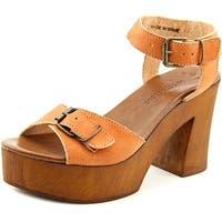 Musse & Cloud Nolea Women  Open Toe Leather  Platform Sandal