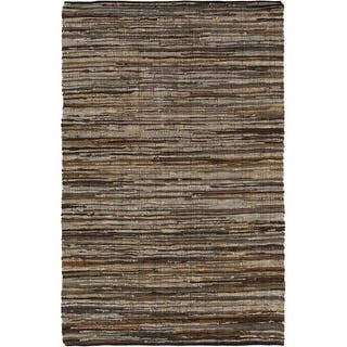 Surya LGC1000-23 Log Cabin 2' x 3' Rectangle Leather Hand Woven Animal Print Are|https://ak1.ostkcdn.com/images/products/is/images/direct/729f50dc7ada8272d9749478cab19e88d27a89b8/Surya-LGC1000-23-Log-Cabin-2%27-x-3%27-Rectangle-Leather-Hand-Woven-Animal-Print-Are.jpg?impolicy=medium