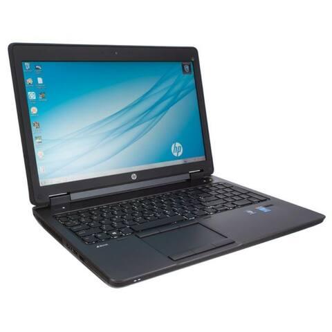 HP ZBook 15 15.6-in Refurb Laptop - Intel Core i7 4800MQ 4th Gen 2.70 GHz 24GB 750GB +32GB SSD DVD-RW Windows 10 Pro 64-Bit