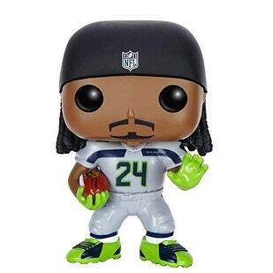 Funko POP NFL: Wave 2 - Marshawn Lynch Action Figure - Multi-Colored