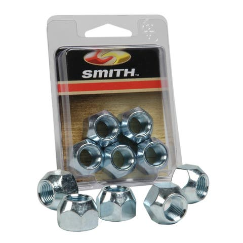 Ce smith pkg wheel nuts 1/2 - 20 -5 pcs. zinc